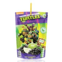 JUS APPY DRINK TORTUES NINJA pouch