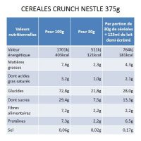 CEREALES CRUNCH NESTLE 375g